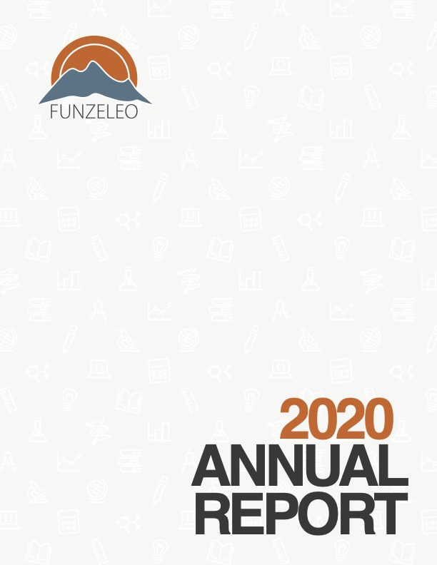 Cover of Funzeleo's 2020 Annual Report